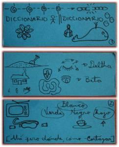 tarjetas con diagramas para hablar del significado de los sueños