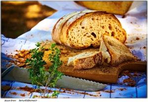 imágenes de pan fresco cortado en rebanadas pueden aparecer en sueños
