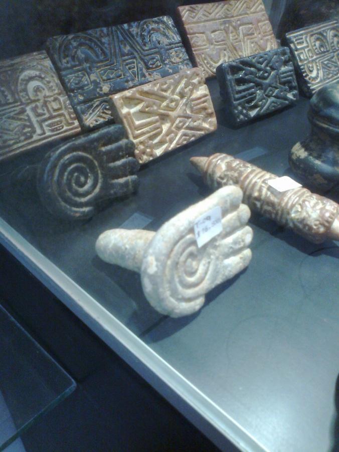 sellos de culturas indígenas colombianas