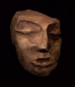 máscara senoi dada a los antropólogos para evitar que deseen controlar los sueños de los nativos