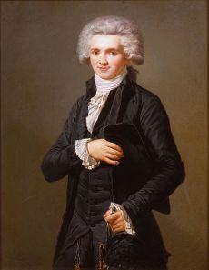 Retrato de Robespierre