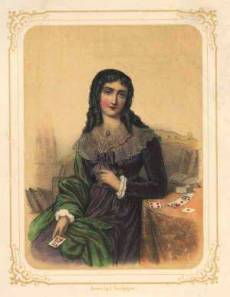Retrato de mademoiselle Lenormand