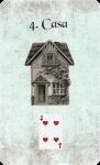 carta lenormand casa en español