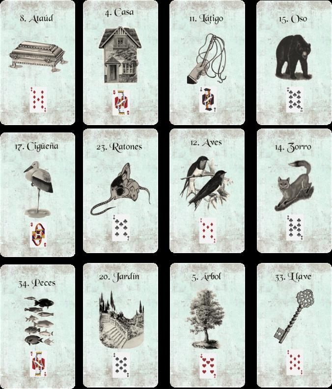 cartas madame lenormand en español estilo vintage