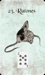carta lenormand ratones en español