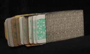 caja artesanal de baraja licuc lenormand